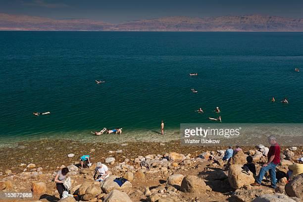 Israel, Dead Sea, Ein Gedi, Ein Gedi Beach