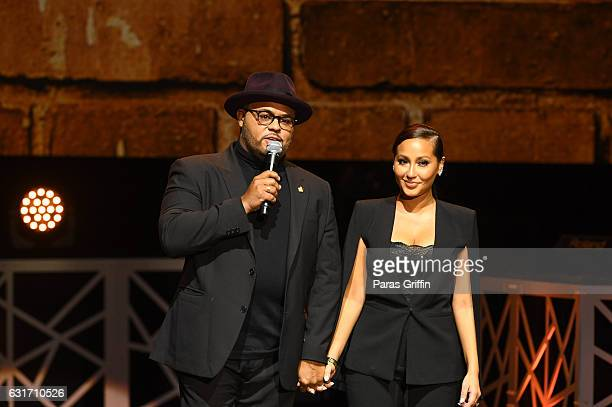 Image result for israel and adrienne houghton on the real getty images