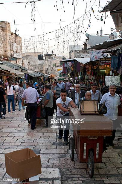 Israel Jerusalem Jerusalem Traders in the Muslim district