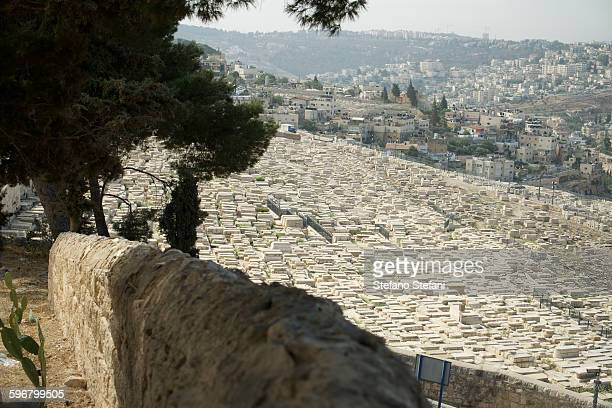 Israel, Jerusalem, Mount of Olives Jewish cemetery