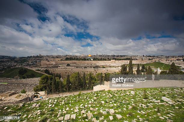 Israel, Jerusalem, Mount of Olives