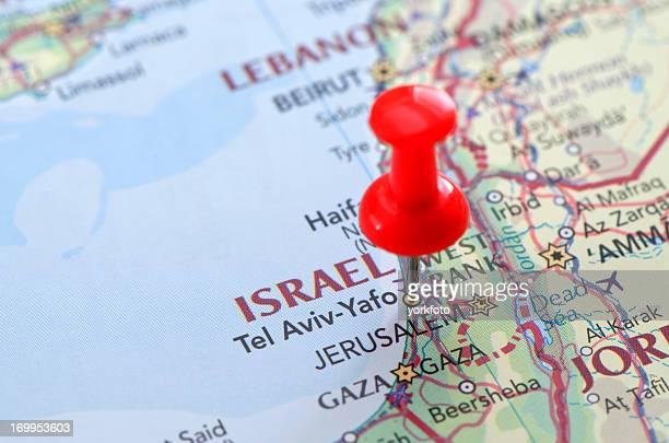 イズラエルマップ