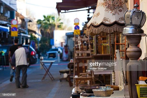 Israel, Tel Aviv, Jaffa Flea Market