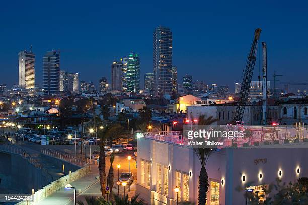 Israel, Tel Aviv, Jaffa, view of downtown