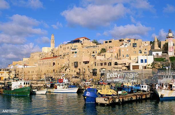 Israel. Tel Aviv, Jaffa, waterfront along old city
