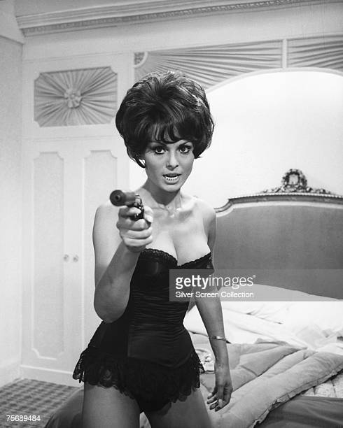 Israeli actress Daliah Lavi playing Princess Natasha Romanova in 'The Spy with a Cold Nose' 1966