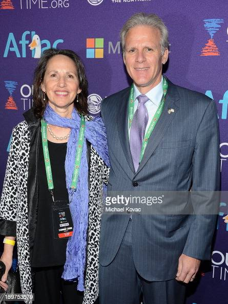 Israeli ambassador to the United States Michael Oren and wife Sally Oren attend the Inaugural Youth Ball hosted by OurTimeorg at Donald W Reynolds...