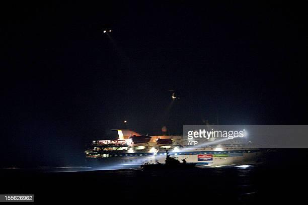 Israeli commandos raid a ship as the Israeli navy intercepts a Gazabound aid flotilla in the Mediterranean Sea on May 31 killing several...