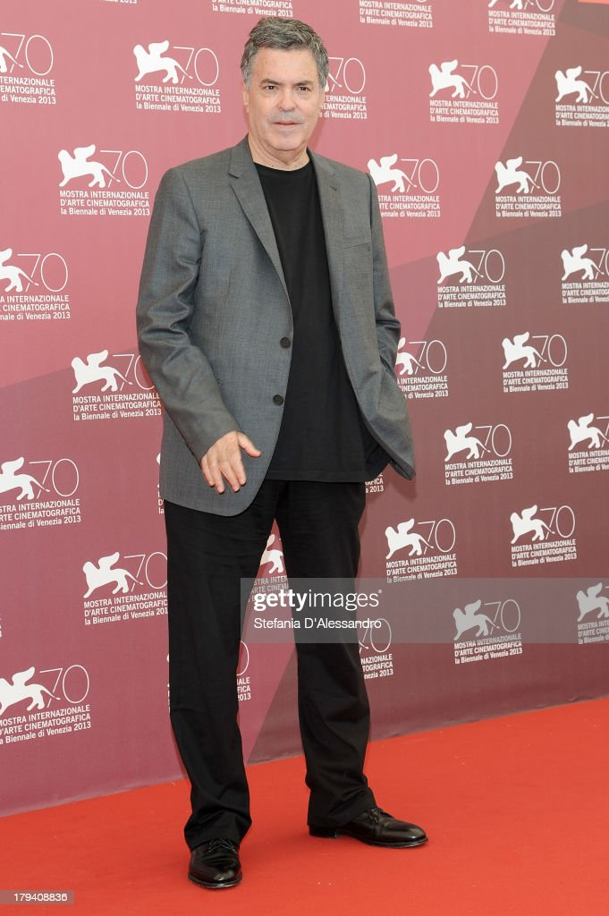 Israeli director Amos Gitai attends 'Ana Arabia' Photocall during the 70th Venice International Film Festival at Palazzo del Casino on September 3, 2013 in Venice, Italy.