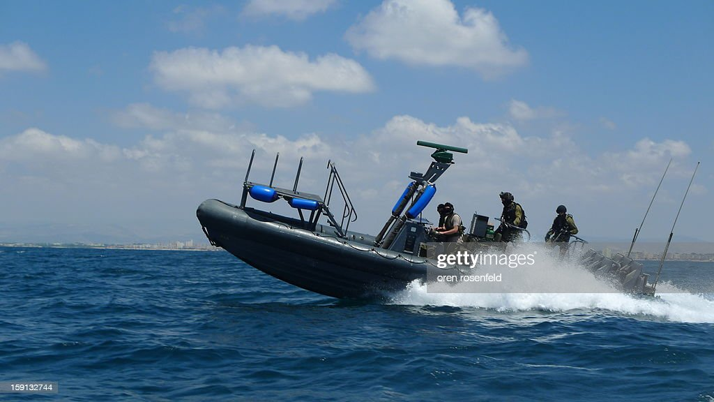 CONTENT] Israeli elite navy commandos from flotilla 13,on a patrol off the coast of Haifa.