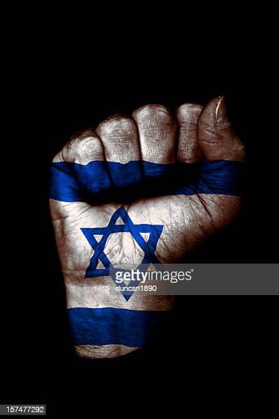Israeli Flag Fist
