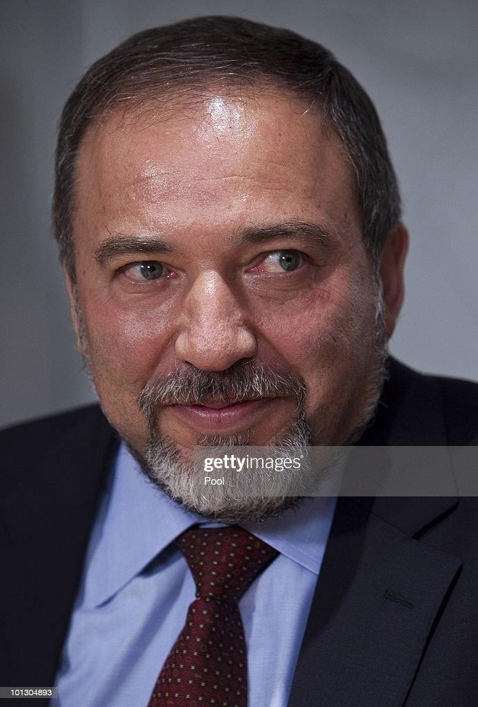 Israeli Foreign Minister Avigdor Lieberman Reacts to Flotilla Raid