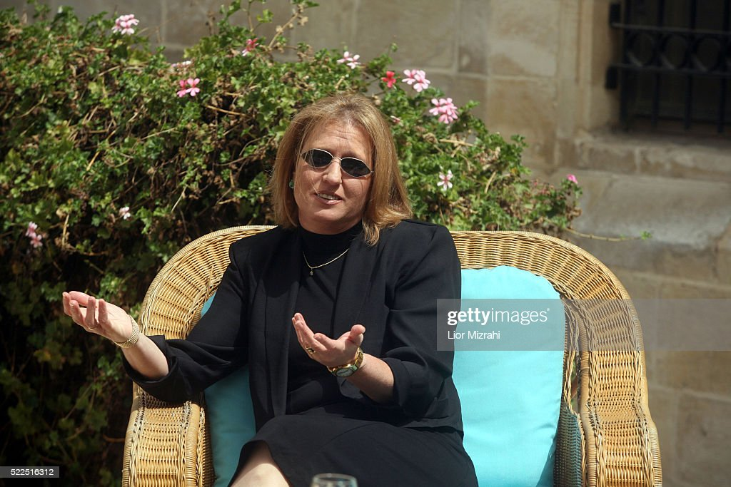 Israeli Foreign Minister Tzipi Livni waits for a meeting on March 25, 2008 in Jerusalem, Israel.