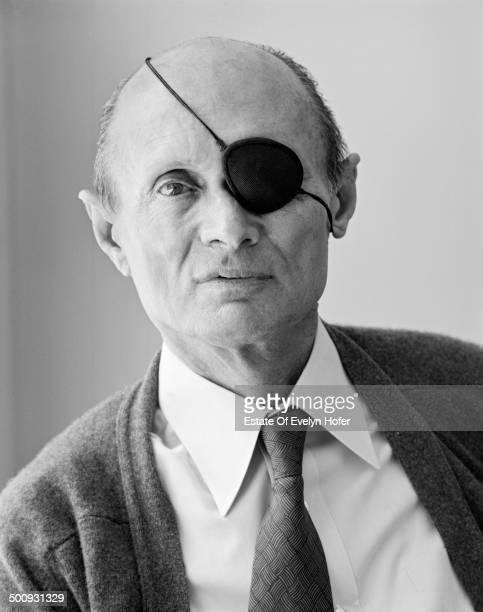 Israeli military leader and politician Moshe Dayan New York 1980