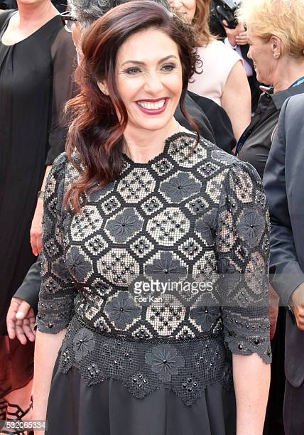 Israeli Minister of Culture and sport Miri Regev attends the 'Loving' Premiere at the annual 69th Cannes Film Festival at Palais des Festivals on May...