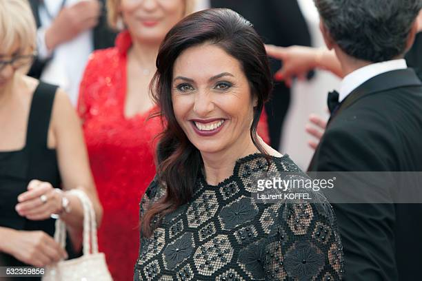 Israeli Minister of Culture and Sport Miri Reguev attends the 'Loving' red carpet arrivals during the 69th annual Cannes Film Festival at the Palais...