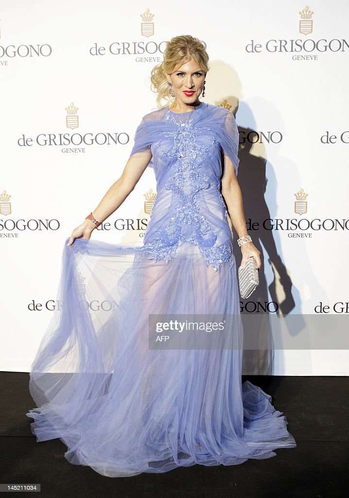 Israeli model Hofit Golan attends the Grisogono party, at the hotel Eden Roc, in Antibes, during the 65th Cannes film festival, on May 23, 2012.