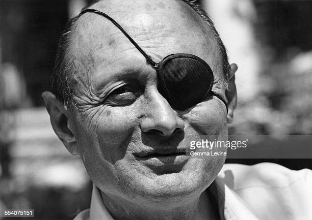 Israeli politician Moshe Dayan 26th April 1976
