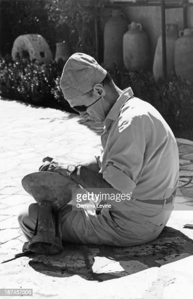 Israeli politician Moshe Dayan circa 1975