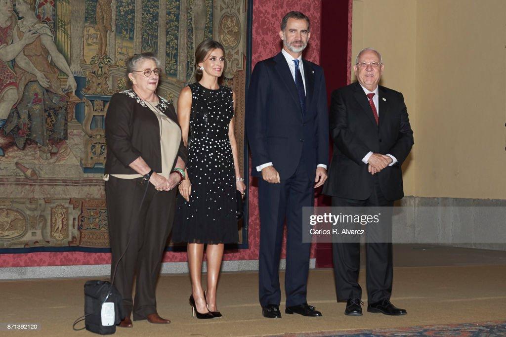 Spanish Royals Host Honor Reception For Israel President