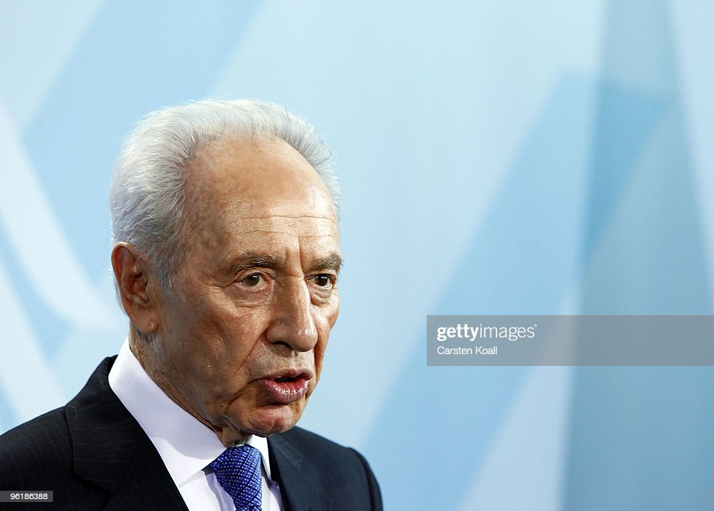 Israeli President Shimon Peres Visits Berlin