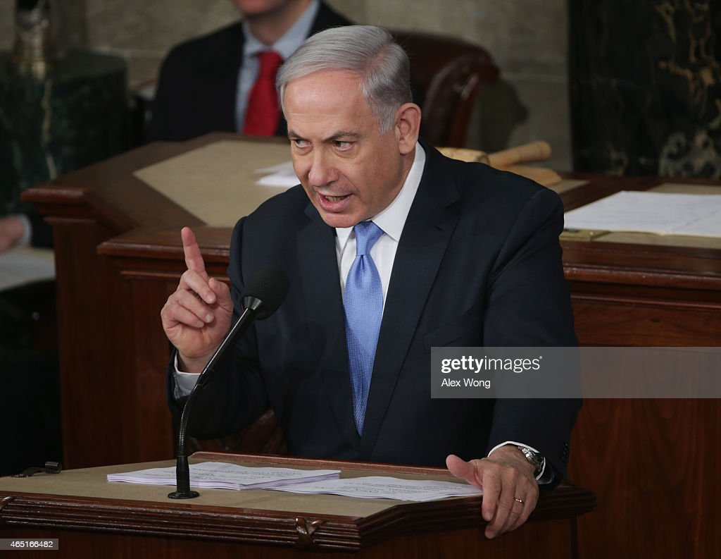 Israeli PM Netanyahu Addresses Joint Meeting Of Congress