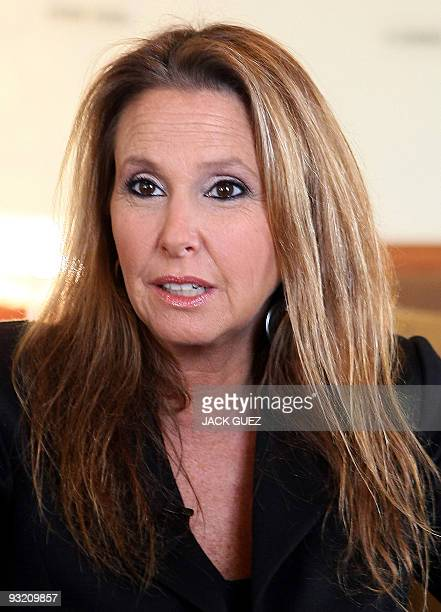 Israeli Shari Arison speaks during an interview with AFP in Jerusalem on November 16 2009 Arison Israel's wealthiest woman is on a visiondriven...