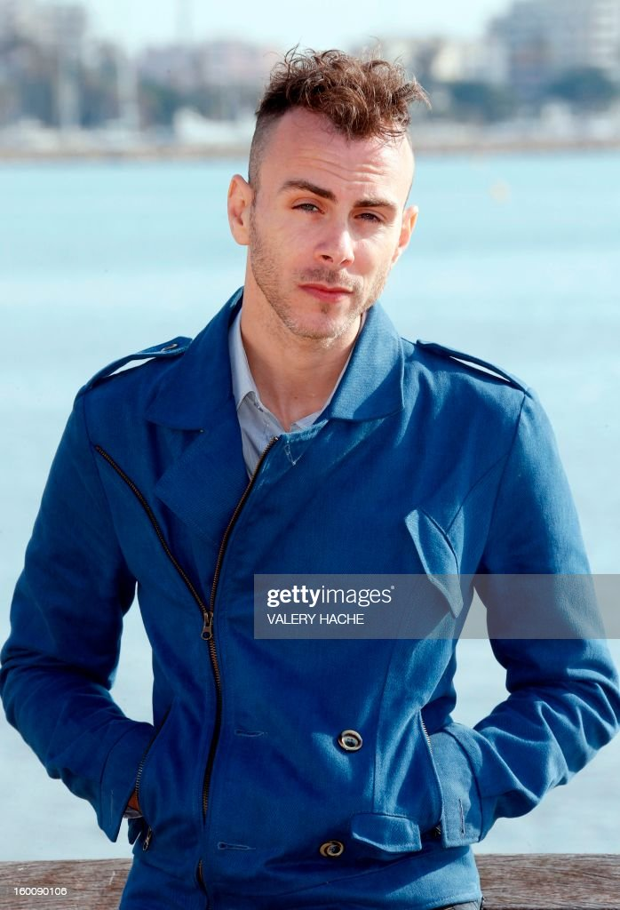 Israeli singer-songwriter and musician Asaf Avidan poses during a photocall as part of the music world's largest annual trade fair, MIDEM on January 26, 2013 in Cannes, southeastern France. The MIDEM music trade show will bring 7,000 of the global industry's biggest players together on the French Riviera for four days.