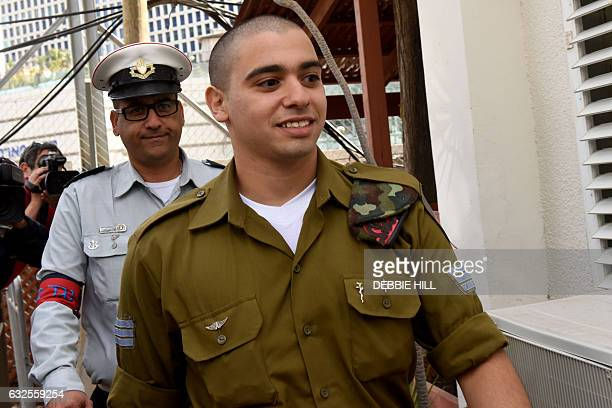 Israeli soldier Elor Azaria who was convicted of manslaughter for shooting dead a prone and wounded Palestinian assailant in a case that has deeply...