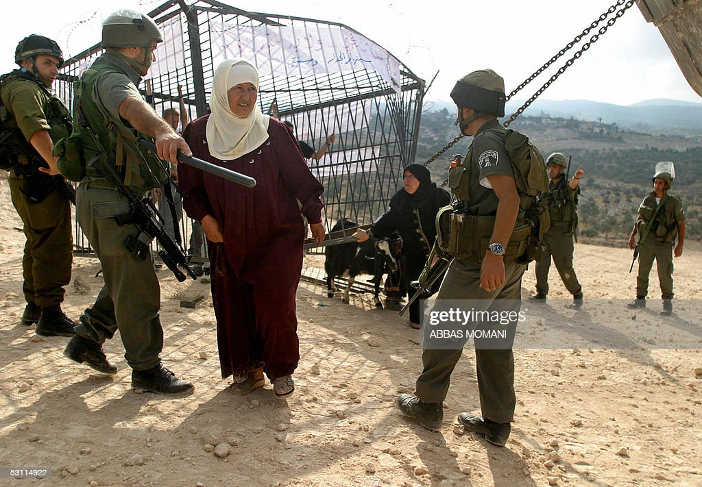Image result for palestinians in a cage