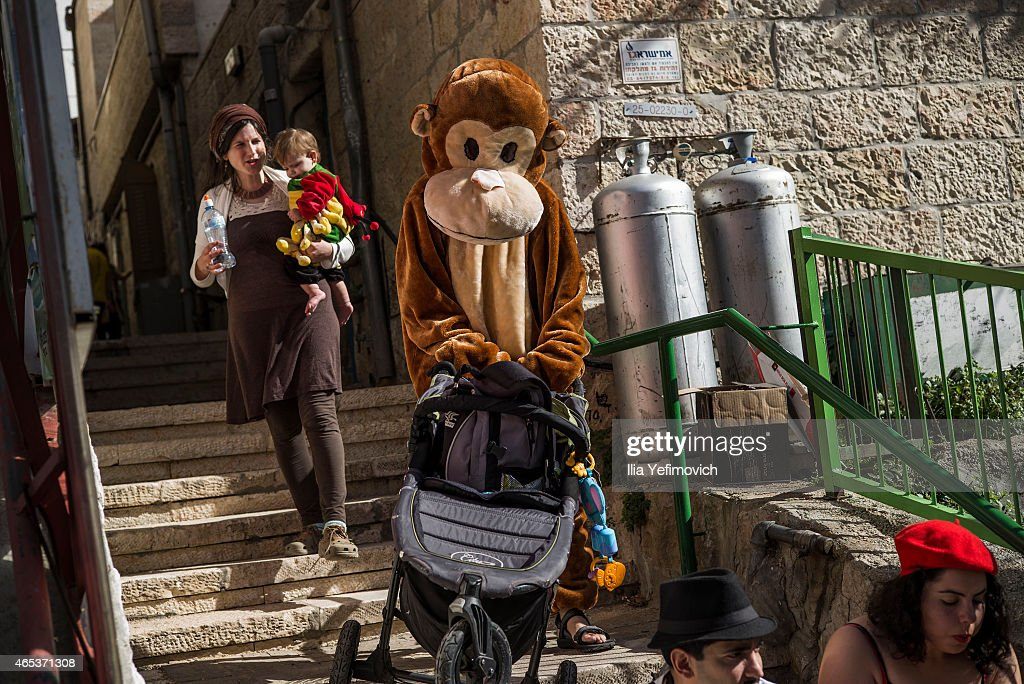 Purim 2015 In Israel
