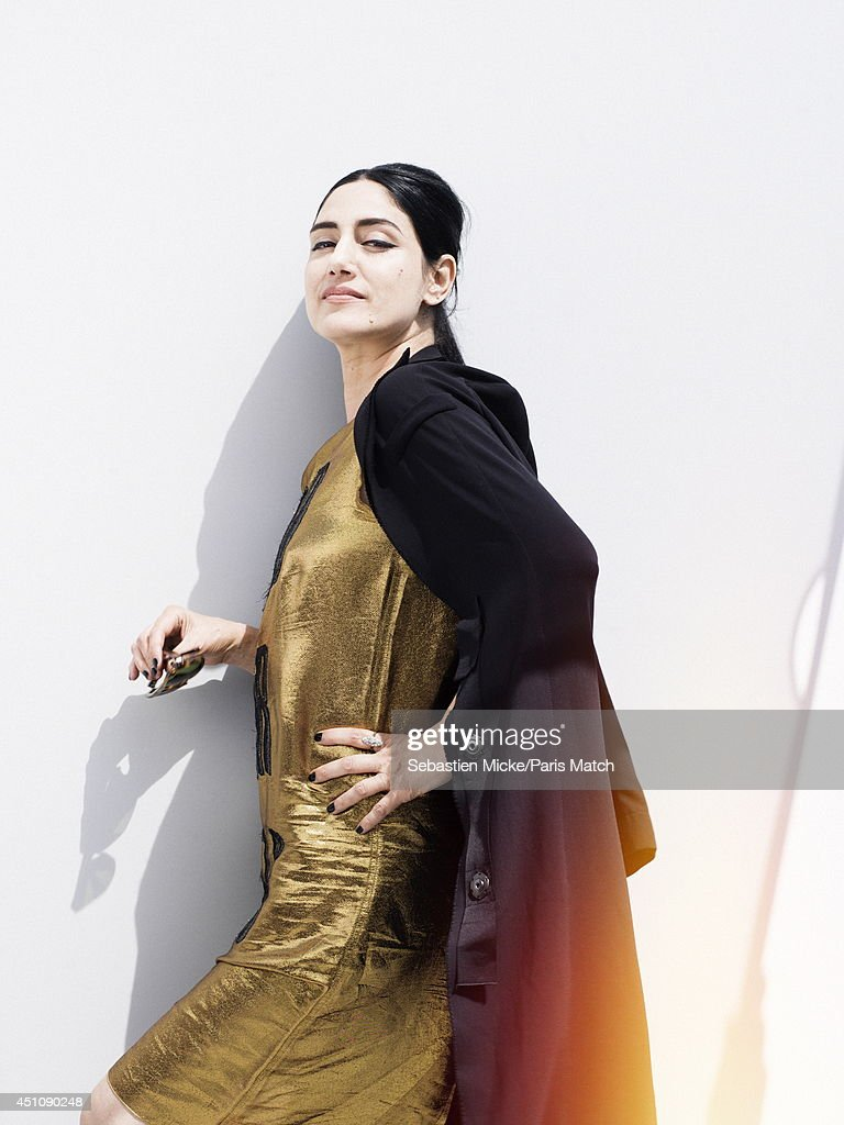 Ronit Elkabetz, Paris Match Issue 3396, June 25, 2014