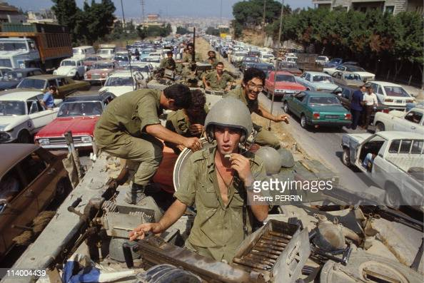 Israel's 1982 invasion of Lebanon and occupation In Beirut Lebanon On August 02 1982