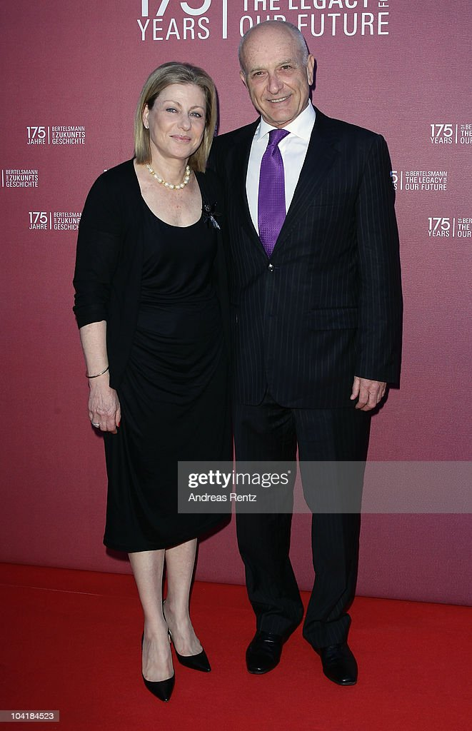 Israel's ambassador to Germany Yoram Ben-Zeev and his wife arrive for the Bertelsmann 175 years celebration ceremonial act at the Konzerthaus am Gendarmenmarkt on September 16, 2010 in Berlin, Germany.
