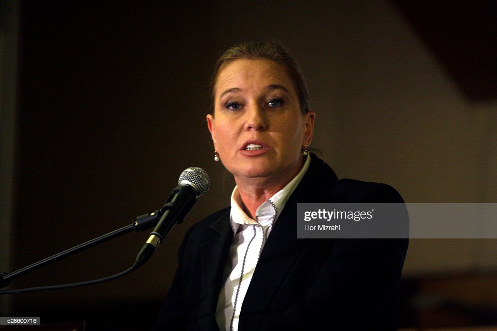 Israel's opposition leader <a gi-track='captionPersonalityLinkClicked' href=/galleries/search?phrase=Tzipi+Livni&family=editorial&specificpeople=537394 ng-click='$event.stopPropagation()'>Tzipi Livni</a> speaks during a conference on February 23, 2010 in Jerusalem, Israel.
