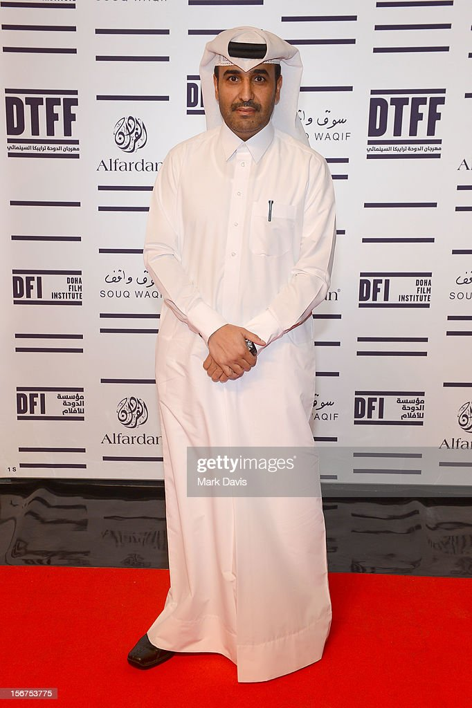 Issa Al-Mohannadi attends the 'Till I Breathe this Life' premiere during the 2012 Doha Tribeca Film Festival at the Al Mirqab Boutique Hotel on November 20, 2012 in Doha, Qatar.