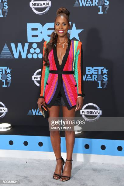 Issa Rae at the 2017 BET Awards at Microsoft Square on June 25 2017 in Los Angeles California