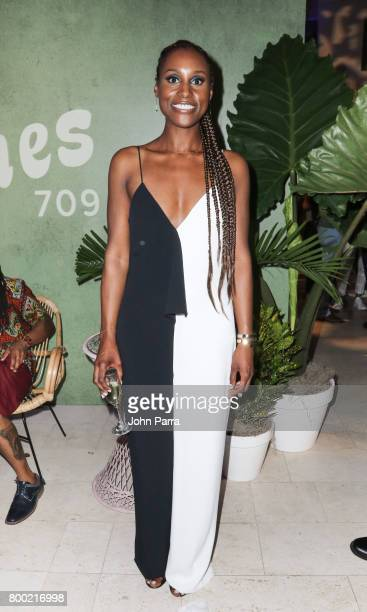 Issa Rae attends the 20th Anniversary Celebration of HBO x ABFF at The Betsy Hotel on June 17 2017 in Miami Florida