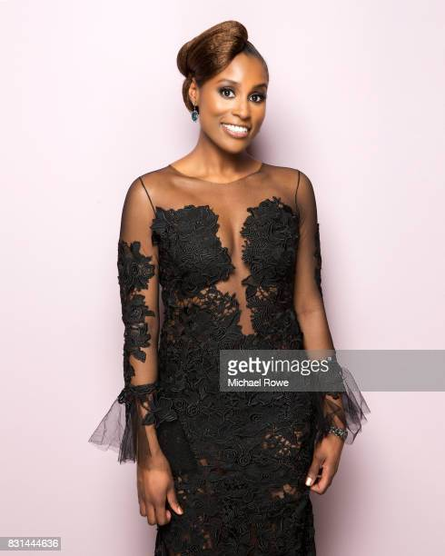 Issa Rae is photographed for Essencecom on February 24 2017 in Los Angeles California