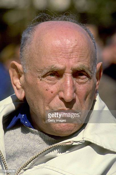 Isser Harel considered the founder of Israel's intelligence community is shown February 9 1988 Harel died February 18 2003 at the age of 91 after a...