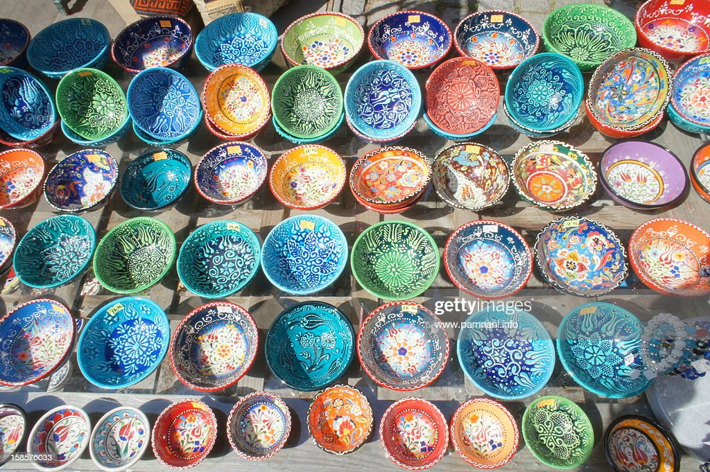 Istanbul Ceramic : Stock Photo