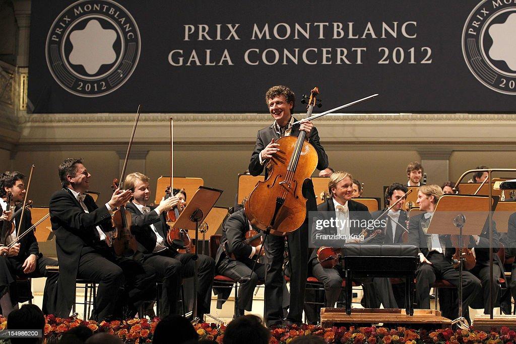 Istvan Vardai attends the PRIX Montblanc 2012 at the 'Konzerthaus am Gendarmenmarkt' on October 29, 2012 in Berlin, Germany.
