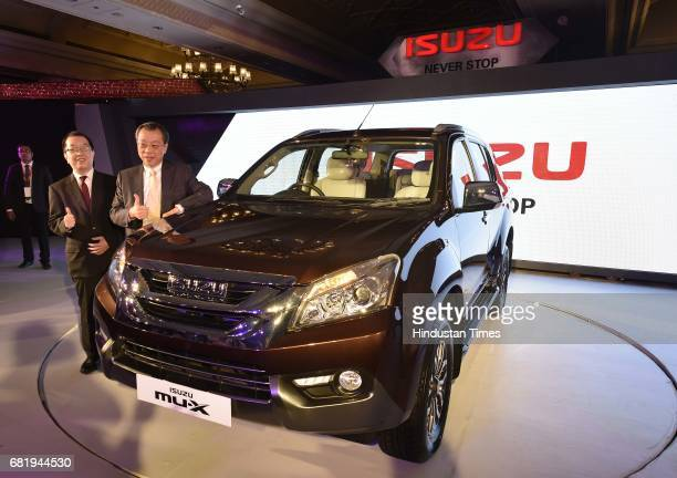 Isuzu Motors India launches new Isuzu DMAX on May 11 2017 in New Delhi India The Isuzu DMax 4WD Crew Cab measures 5295 mm in length570 mm in width...