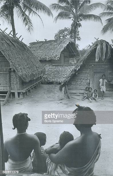 It could be darkest Africa but this village is right on the doorstep of the Caribbean in Surinam once known as Dutch Guina Along the jungle rivers of...
