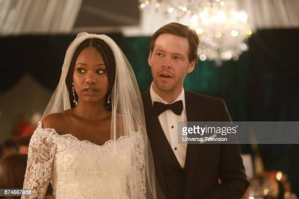 PROJECT 'It Had To Be You' Episode 610 Pictured Xosha Roquemore as Tamra Webb Ike Barinholtz as Morgan Tookers