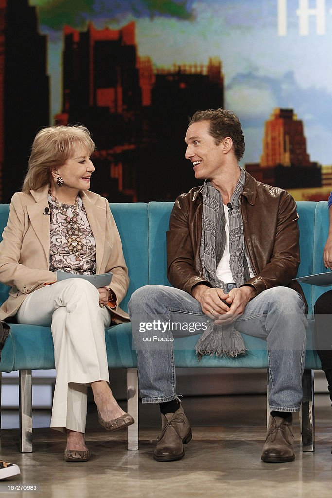 THE VIEW - It is a celebration of Sherri Shepherd's birthday on 'THE VIEW,' 4/22/13 (11:00 a.m. - 12:00 noon, ET) airing on the ABC Television Network. MCCONAUGHEY