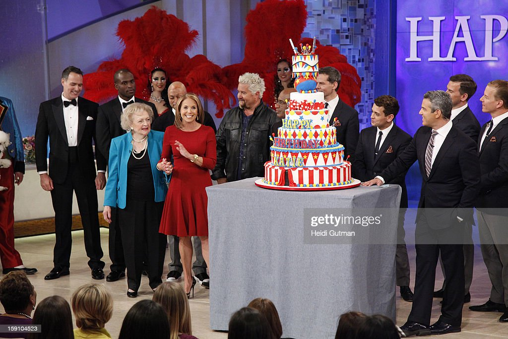 KATIE - It is a show filled with surprise guests and performers to celebrate Katie Couric's birthday, on KATIE, airing MONDAY, JAN. 7th, distributed by Disney-ABC Domestic Television. MEN