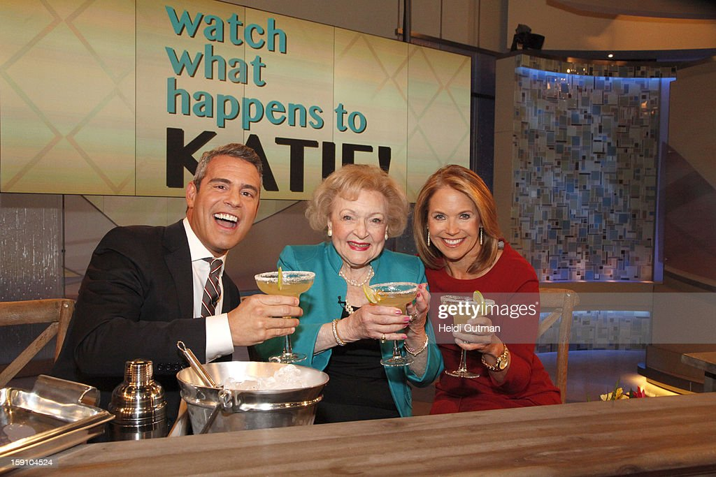 KATIE - It is a show filled with surprise guests and performers to celebrate Katie Couric's birthday, on KATIE, airing MONDAY, JAN. 7th, distributed by Disney-ABC Domestic Television. WHITE