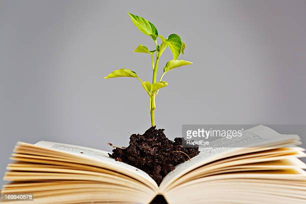 It isn't only gardening books that help you grow!