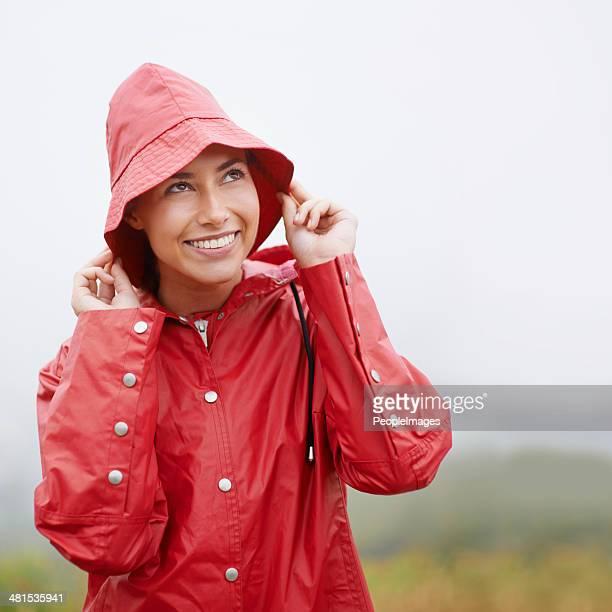 It looks like rain...but I'm ready for it!